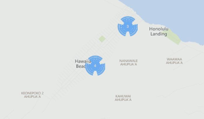 1) Hawaiian Beaches