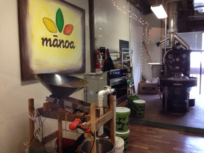 1) Manoa Chocolate Hawaii
