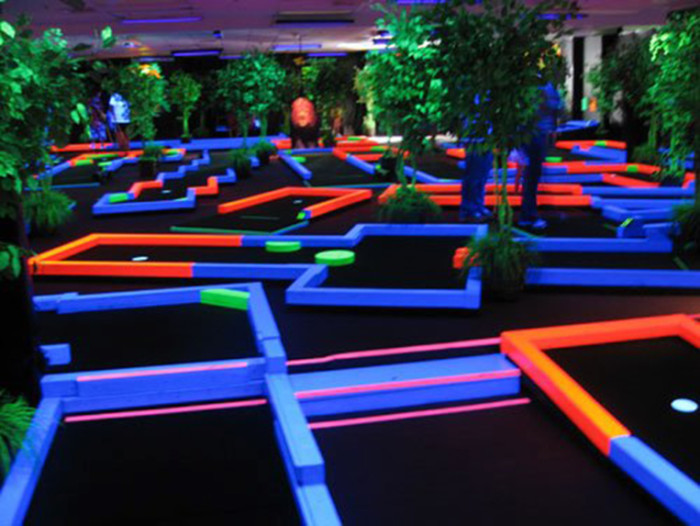 10) Play some mini golf at an indoor course.