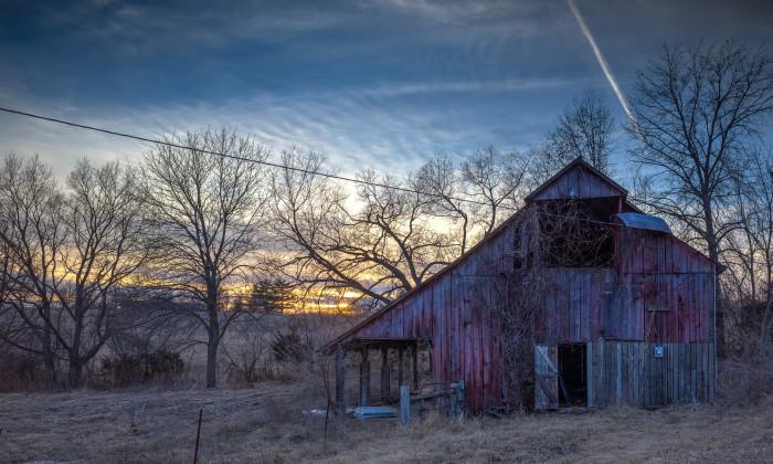 10. Amazing old barns...