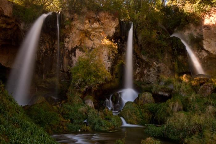 2. Rifle Falls State Park