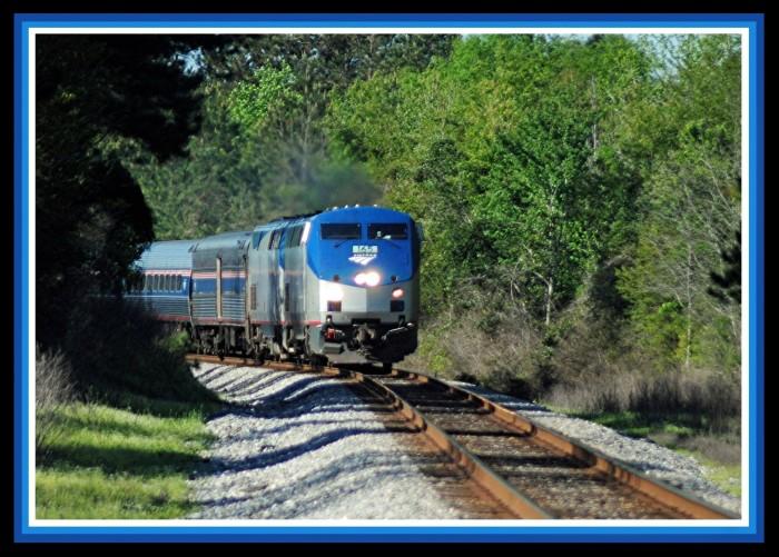 10. Amtrak's Crescent Train