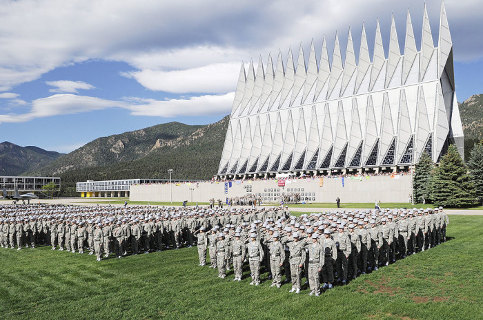 6. ...including the United States Air Force Academy!