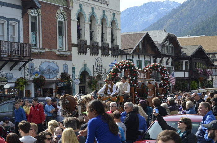 9. There is some of the best beer to drink at the Oktoberfest celebration in our state's Bavarian village!