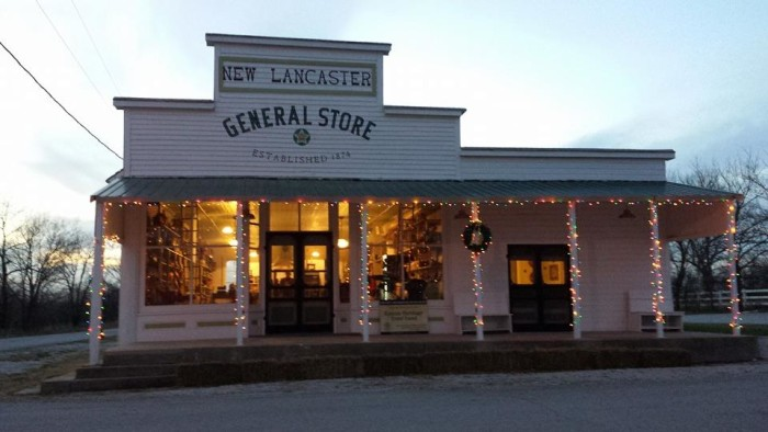1. New Lancaster General Store & Winery (Paola)