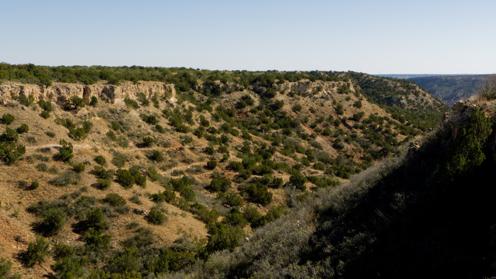 12) Rock Garden Trail (Palo Duro Canyon State Park)