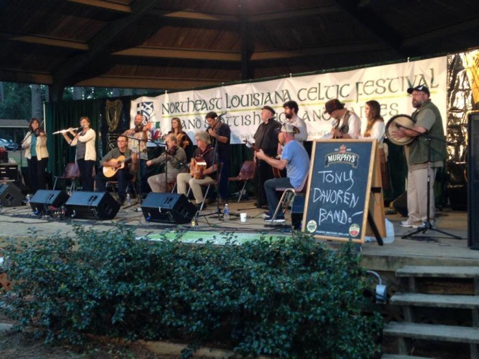 3) Northeast Louisiana Celtic Festival
