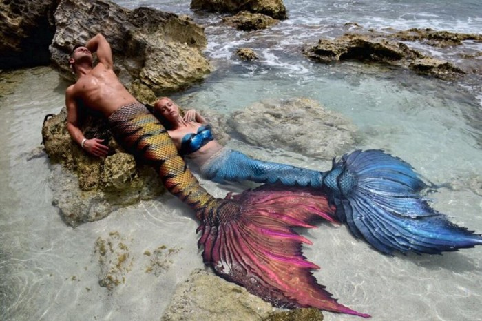 This Real Merman Makes And Sells Stunning Mermaid Tails