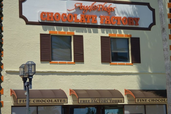 5. Angell and Phelps Chocolate Factory