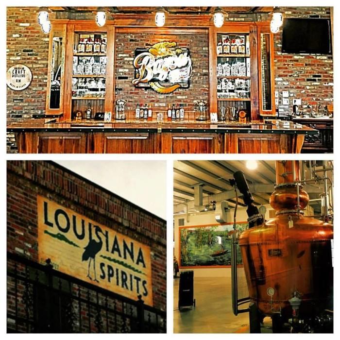 4) Bayou Rum Distillery, Lacassine, LA
