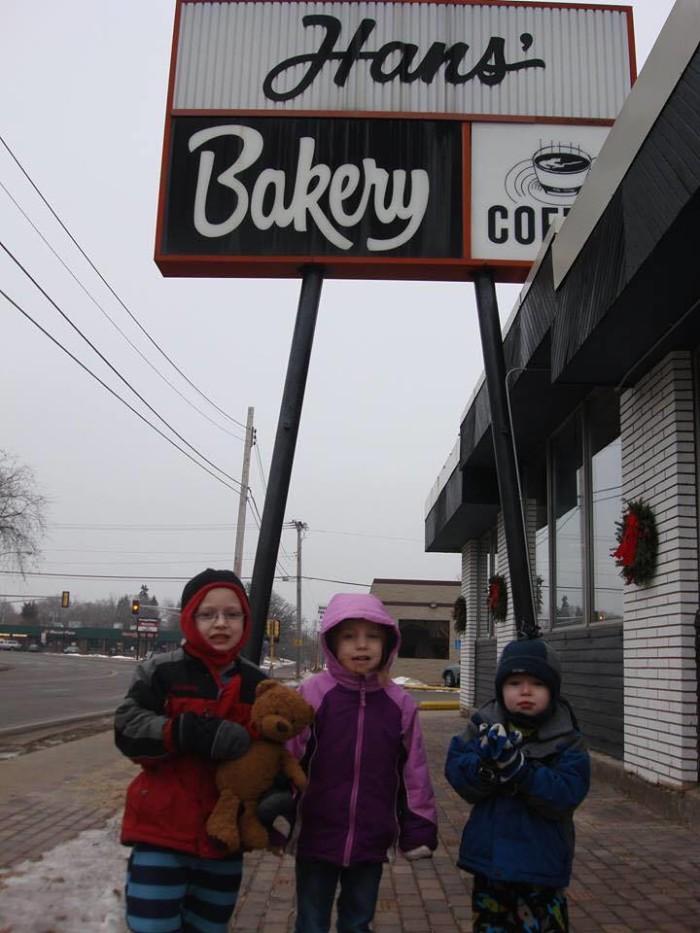 15. Hans' Bakery, Anoka.