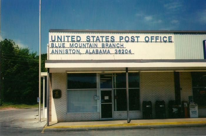 3. Blue Mountain, AL (Population 236)