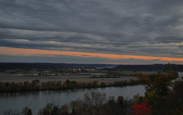 2. The Ohio River Scenic Byway (the U.S. Hwy 50/U.S. Hwy 52/SR 7/SR 338/SR 124/ U.S. Hwy 7 trip)