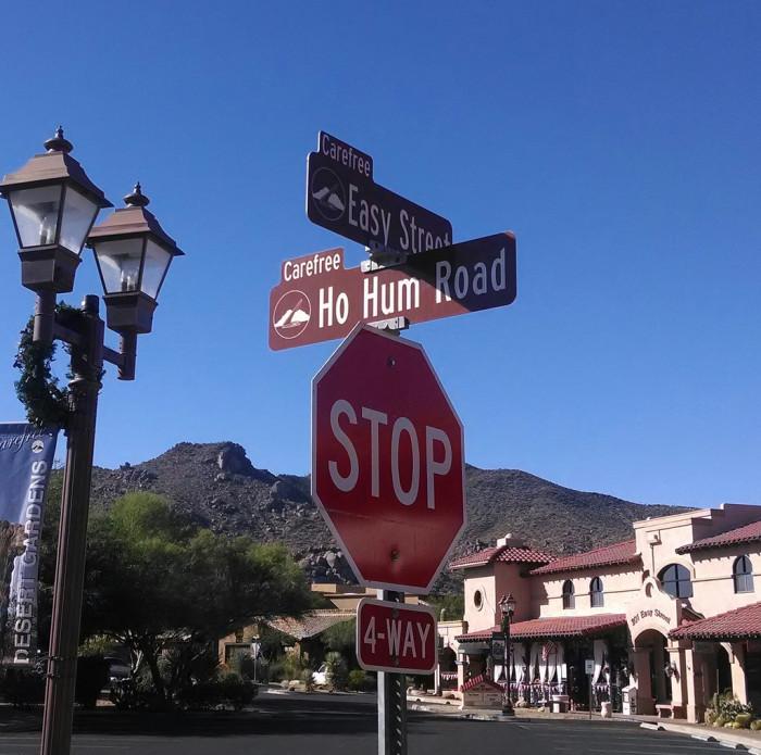 6. Easy Street, Carefree