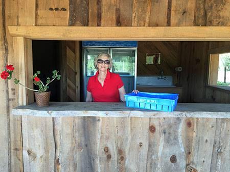 4. Aunt Zelma's Blueberries, Island Grove