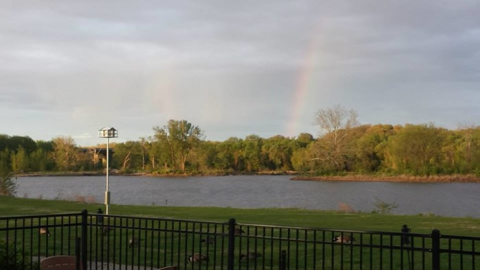 10.Enjoy live music under the stars at Creve Coeur Lakehouse.
