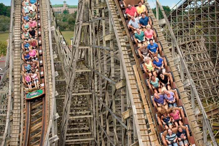 7. Have a blast at Hershey Park.