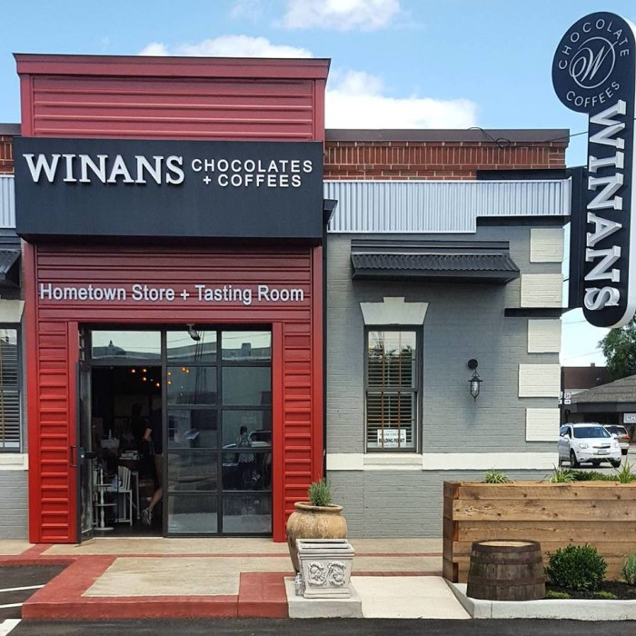 10. Winans Fine Chocolates & Coffees (Troy and Piqua)