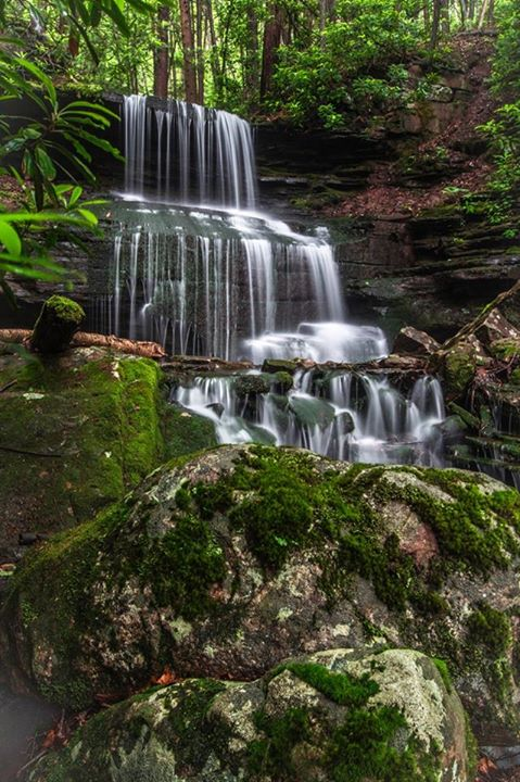 11. Mountain Man Photography captured this shot of Three Falls in Cameron County.