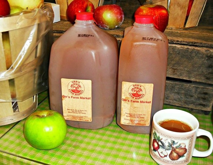 11. Apple cider is back on store shelves.
