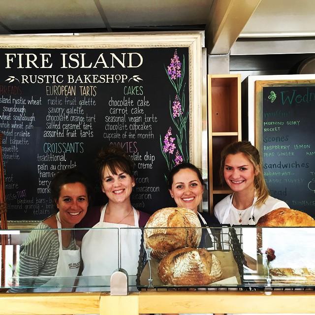 7) Fire Island Rustic Bakeshop