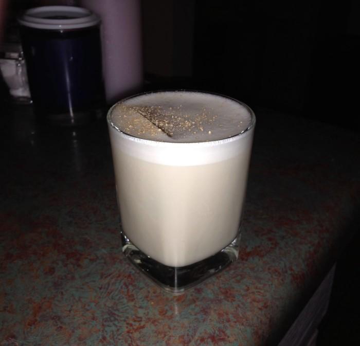7) Milk Punch