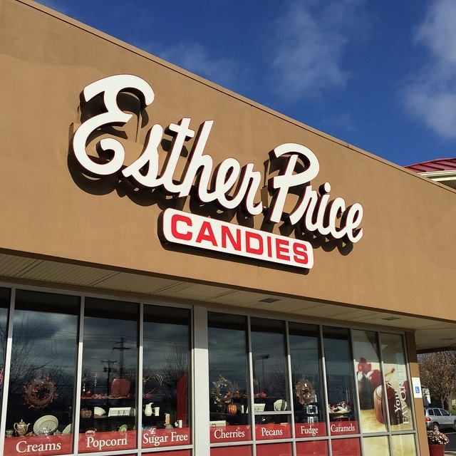 9. Esther Price Candies (multiple locations)