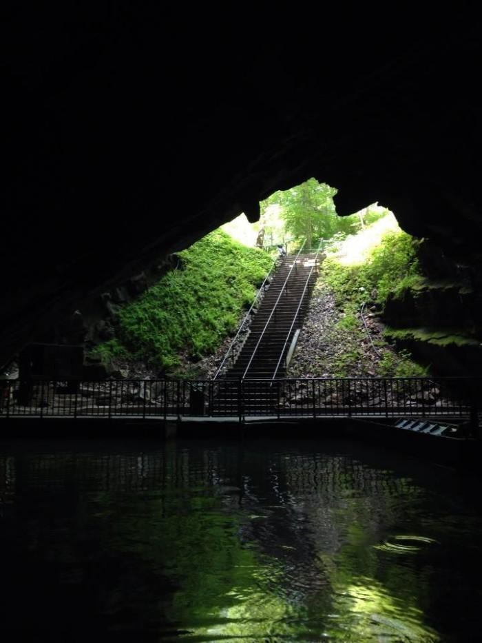 4. Penn's Cave & Wildlife Park, Centre Hall