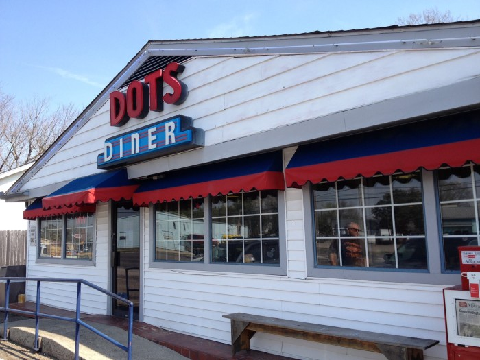 10) Dot's Diner, Jefferson