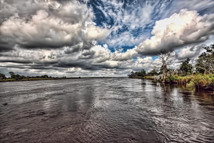 10. Cloudy Skies Over Altamaha River