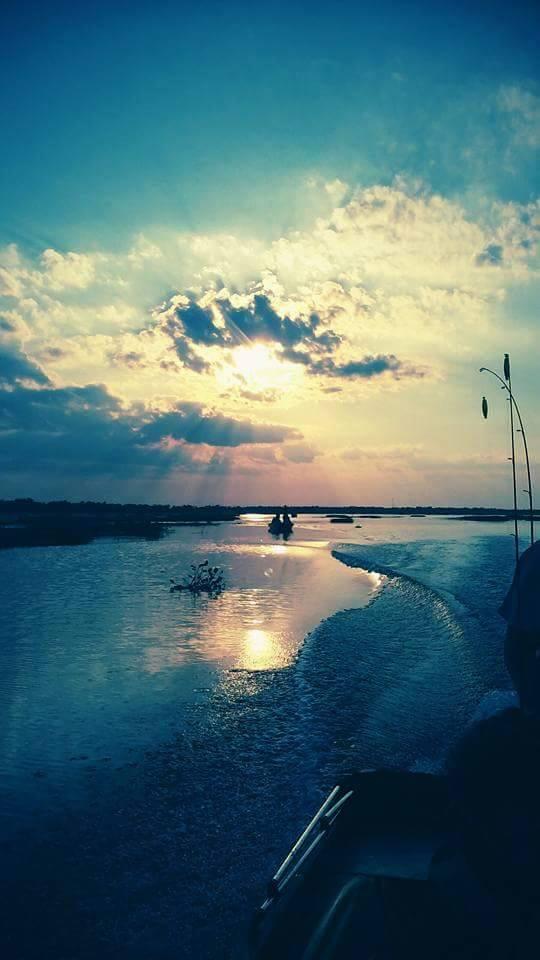1) Early morning Lockport fishing trip.