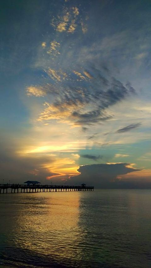 3. Mary Jane Mathis captured this stunning sunrise in Lauderdale-by-the-Sea.