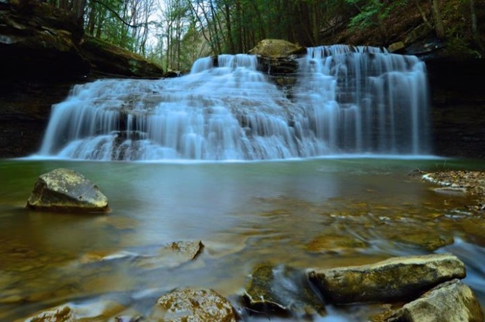 17. Heidi Krigar submitted this photo of Freedom Falls in Kennerdell.