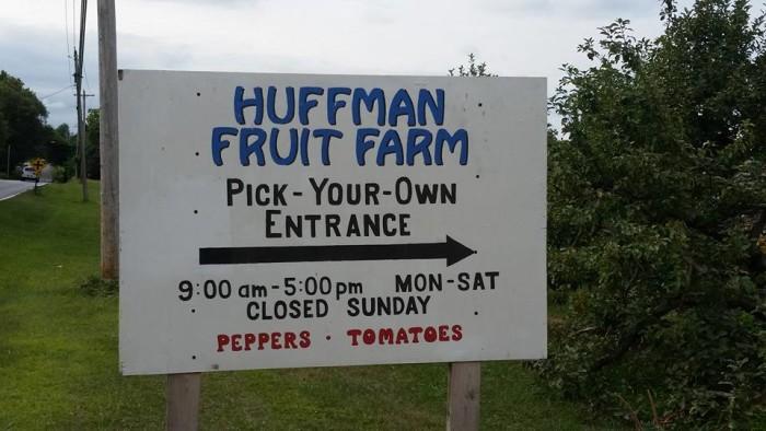 8. Huffman Fruit Farm