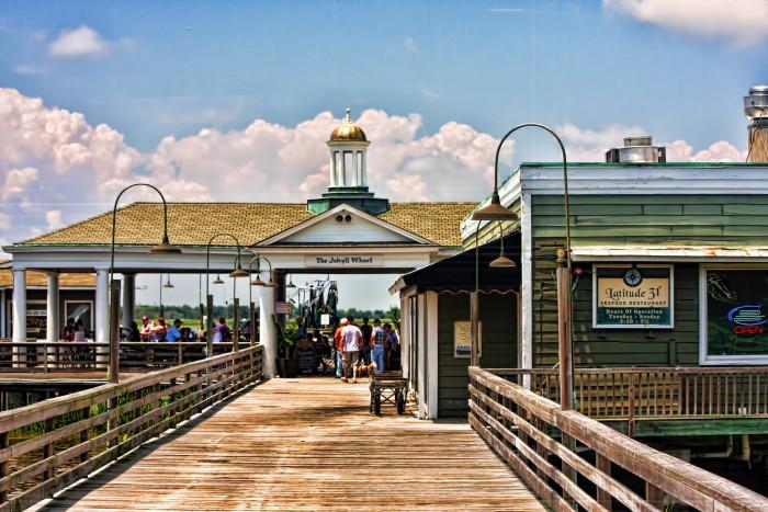 3. The Historic Wharf on Jekyll Island