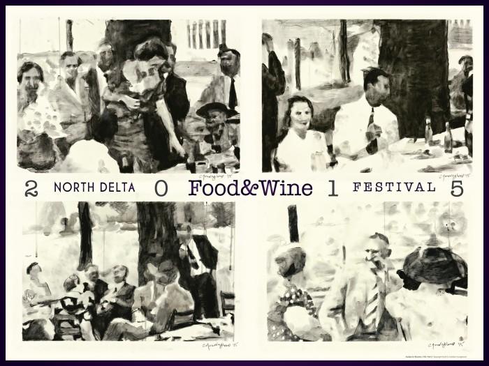 2) North Delta Food and Wine Festival, Monroe