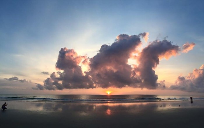 20. This sunrise in New Smyrna Beach was captured by Joyce Price.