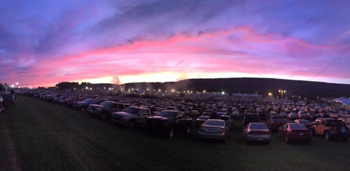 15. Brittni Newman took this picture of the Grange Fair in Centre Hall.