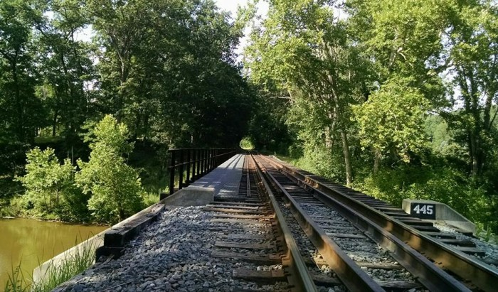 19. Cuyahoga Valley National Park railroad