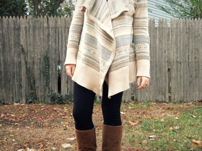 11. And pull your favorite fall sweaters out of storage.