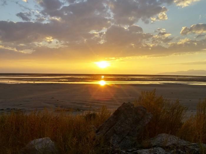 10. We love B-linda S. Avelar's photo of the Great Salt Lake.
