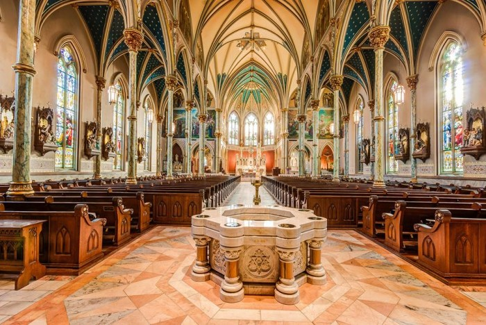 5. Cathedral of St. John the Baptist - Savannah, Georgia