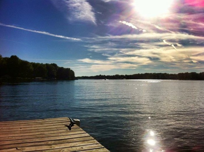 19. Shawn Todd managed to snag a beautiful picture of Heritage Lake and share it with us!
