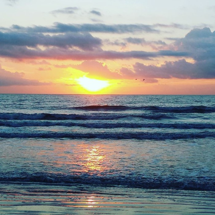 10. Erin Moore shared this photo of Cocoa Beach at dawn.