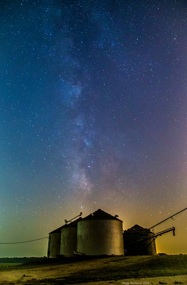 6. Peggy McDaniel is being featured for a SECOND time in this piece. But, look at how she managed to capture a perfect picture of the milkway in Hartford!