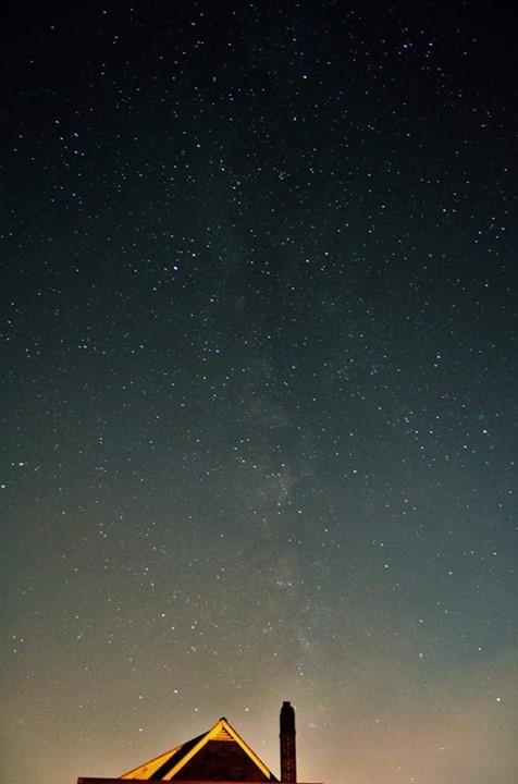 7. Salvator Vicario Jr. took this amazing photograph of the night sky at Martins Creek.