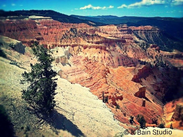 9. Karrie Bain submitted this photo of Cedar Breaks.