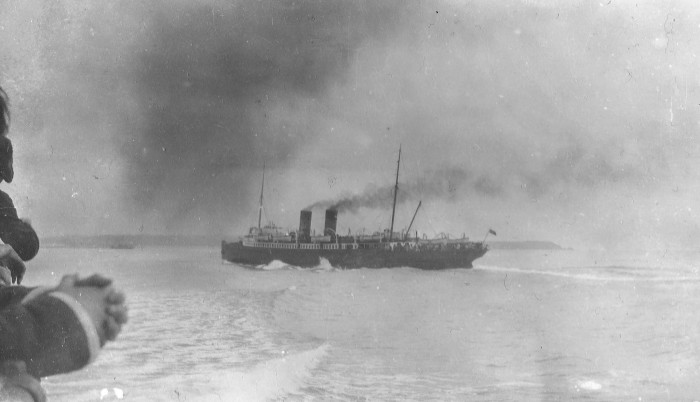 1) Ghost Ship from the Frozen North
