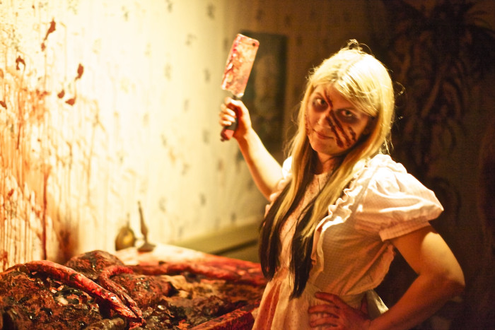 11) All the haunted houses start opening up, if you dare to step foot in them.