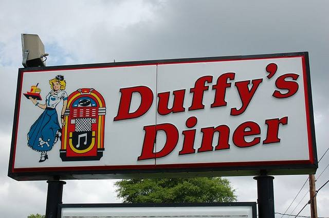 2) Duffy's Diner, New Iberia